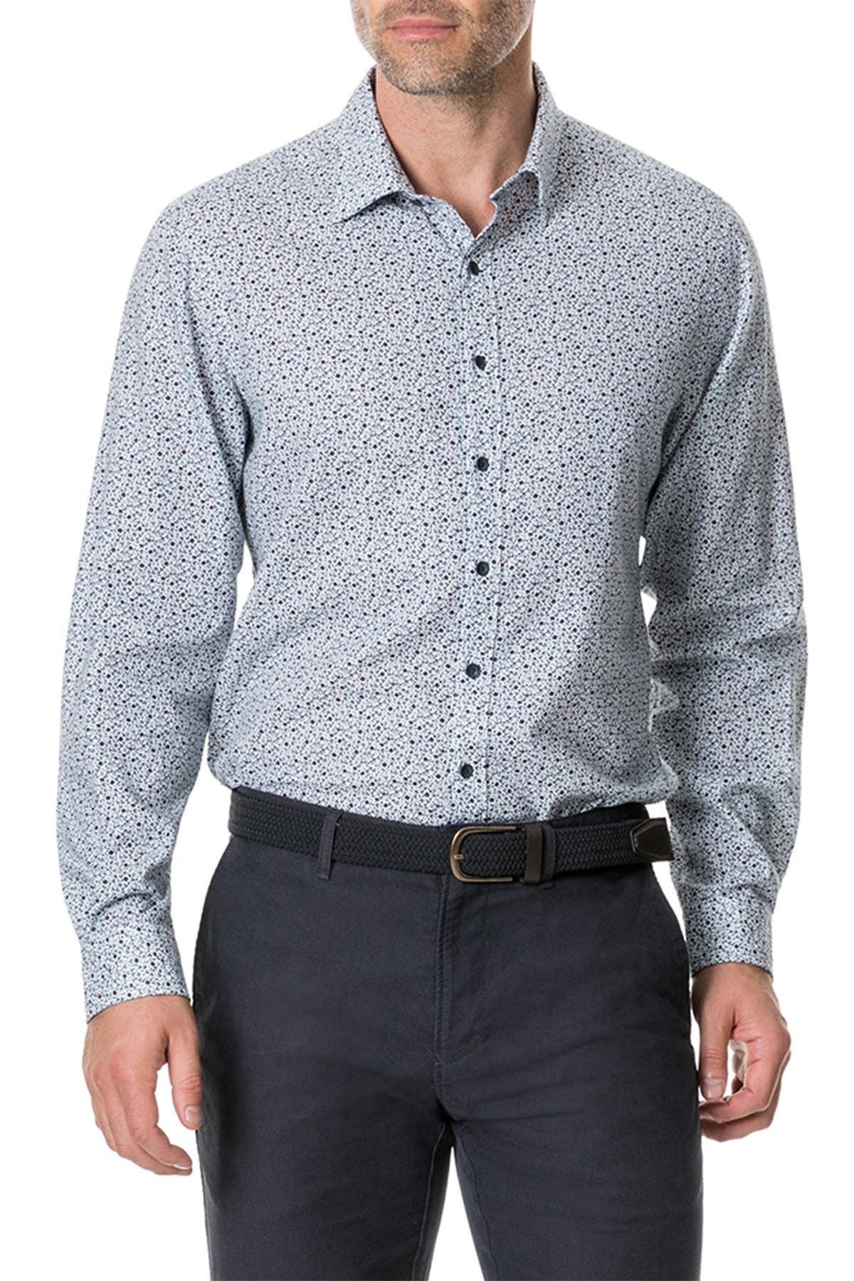 RODD AND GUNN Harewood Regular Fit Flannel Sport Shirt at Nordstrom Rack