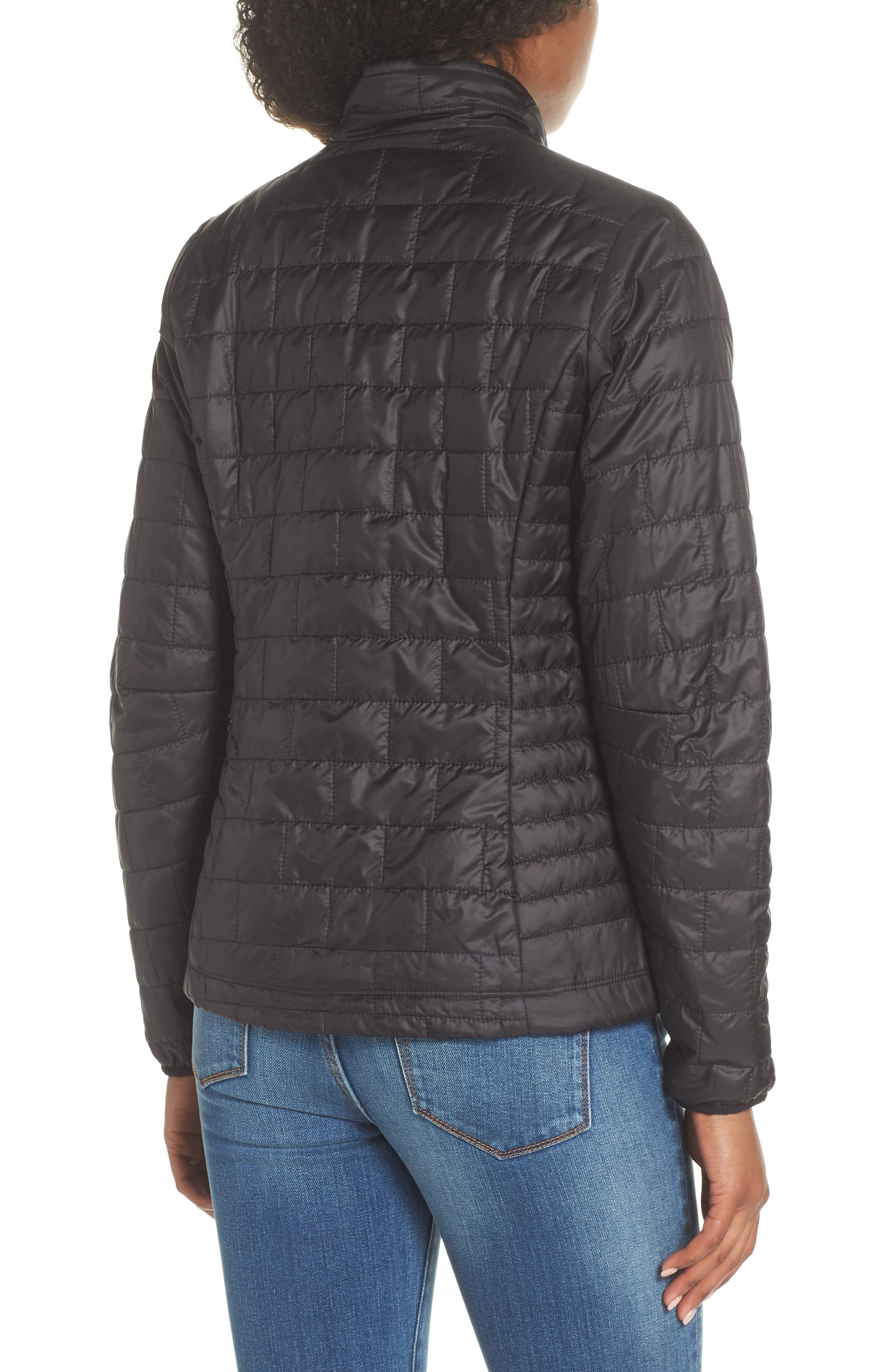 ,                             Nano Puff<sup>®</sup> Water Resistant Jacket,                             Alternate thumbnail 2, color,                             BLACK