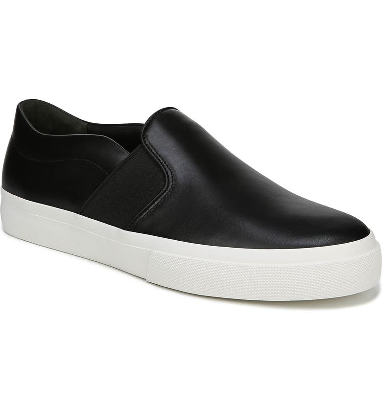 VINCE Fenton Slip-On  Sneaker, Main, color, BLACK/ BLACK