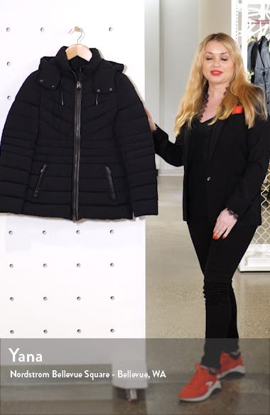 Patsy-NF Stretch Water Repellent Down Coat, sales video thumbnail