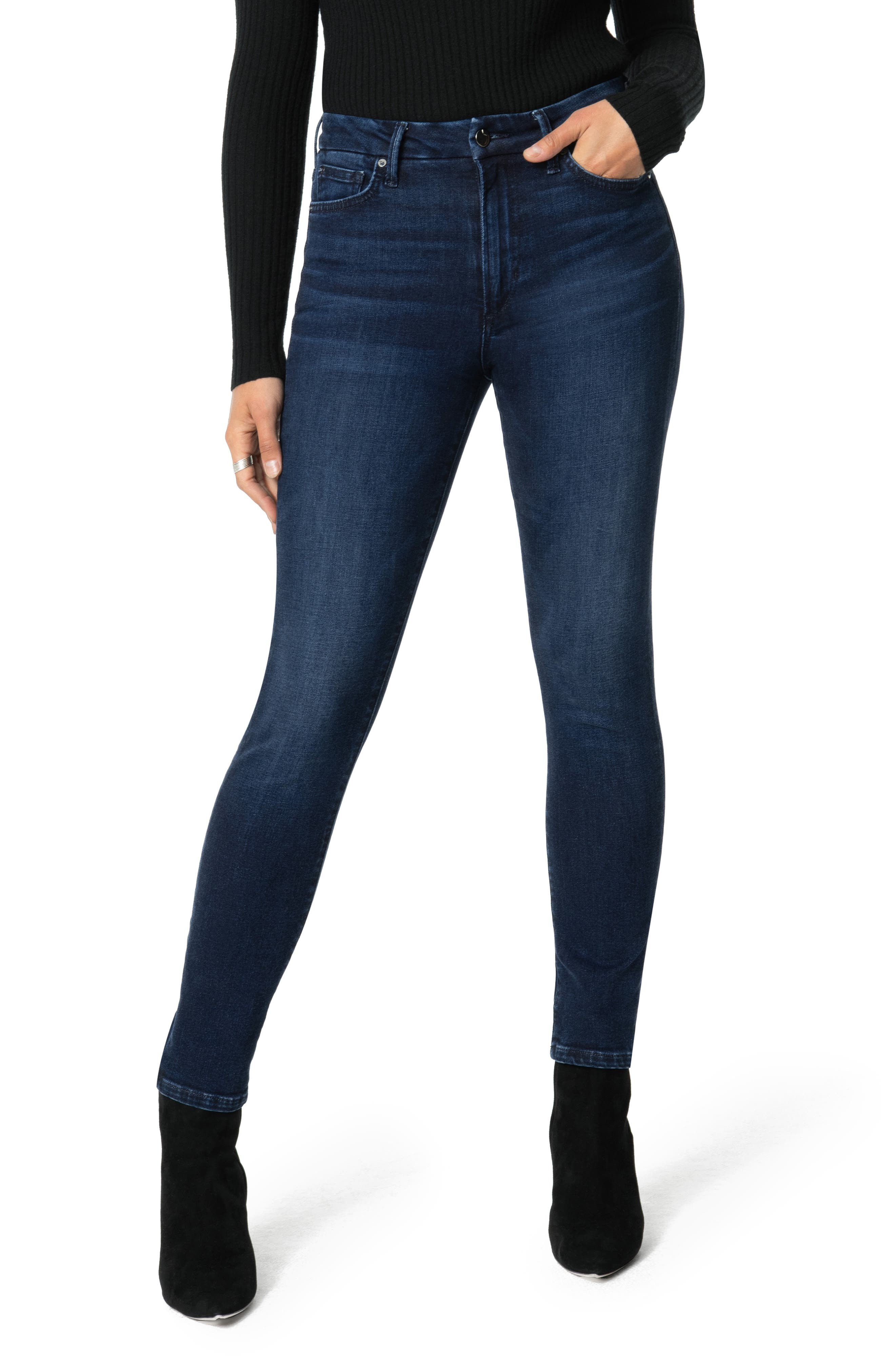 Joe's Jeans Flawless - The Charlie High Waist Ankle Skinny Jeans