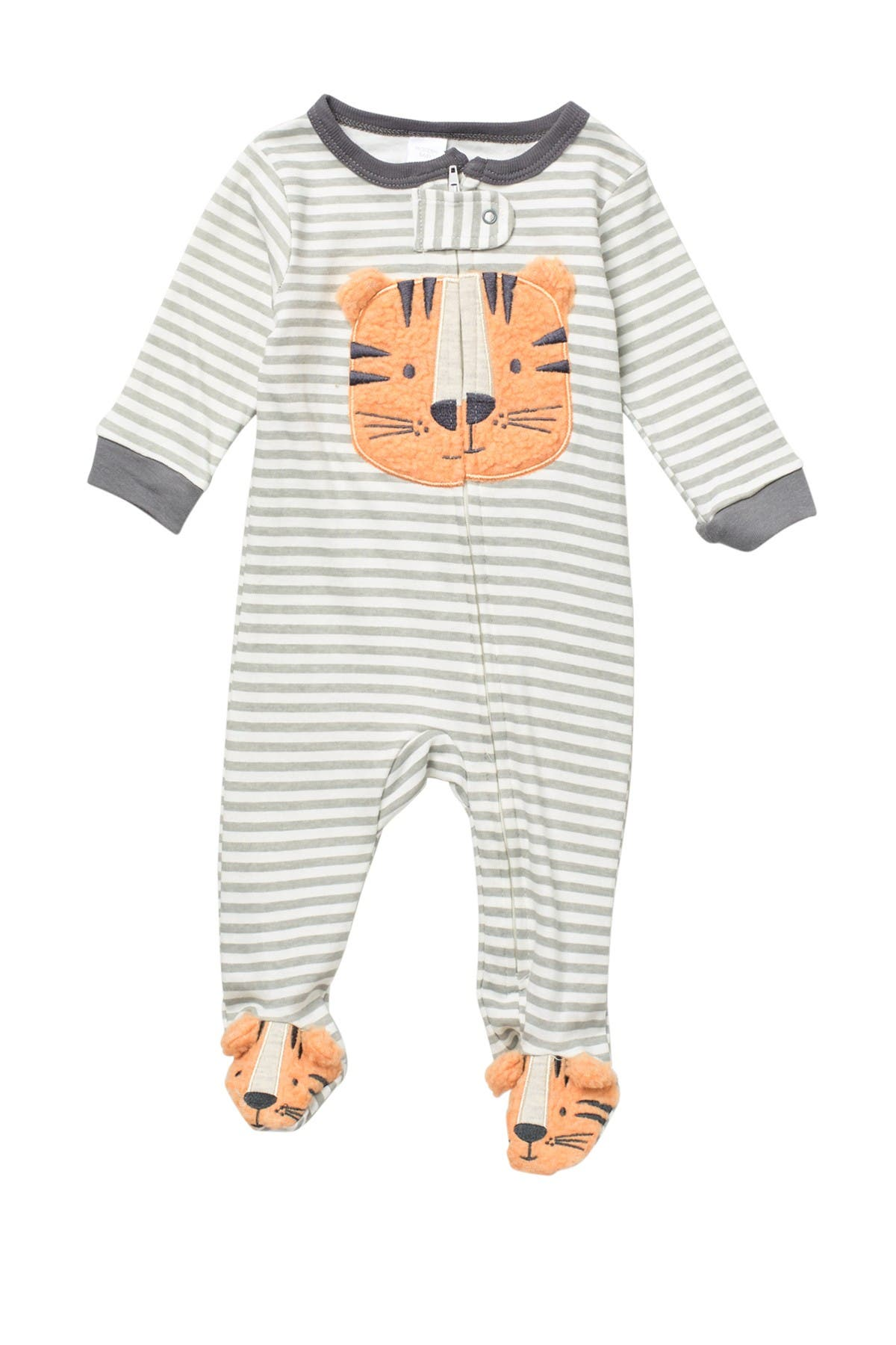 Image of Baby Kiss Terry Tiger Footie