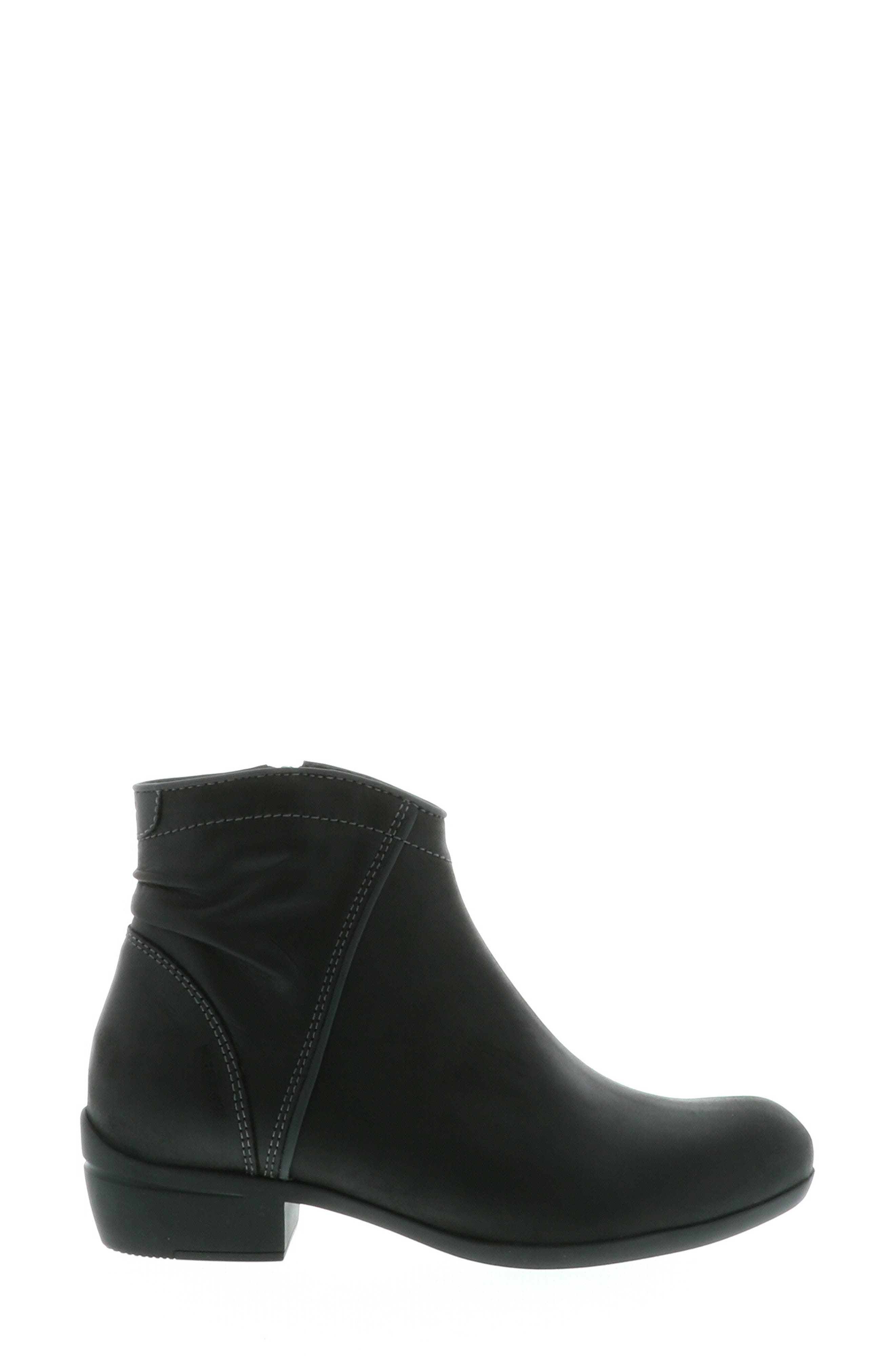 ,                             Winchester Bootie,                             Alternate thumbnail 3, color,                             BLACK/ BLACK LEATHER