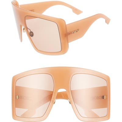 Dior Solight1S 60Mm Shield Sunglasses - Pink/ Pink