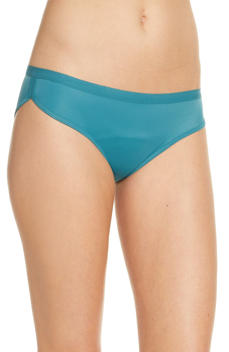 THINX Period Proof Sport Bikini, Main, color, PINE