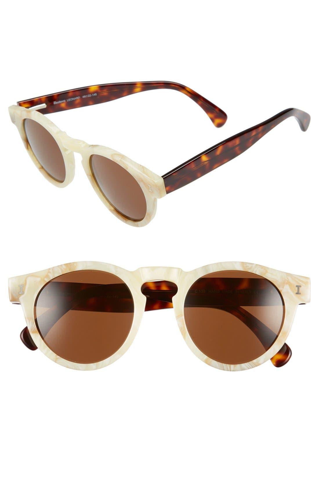 ,                             'Leonard' 47mm Sunglasses,                             Main thumbnail 127, color,                             275