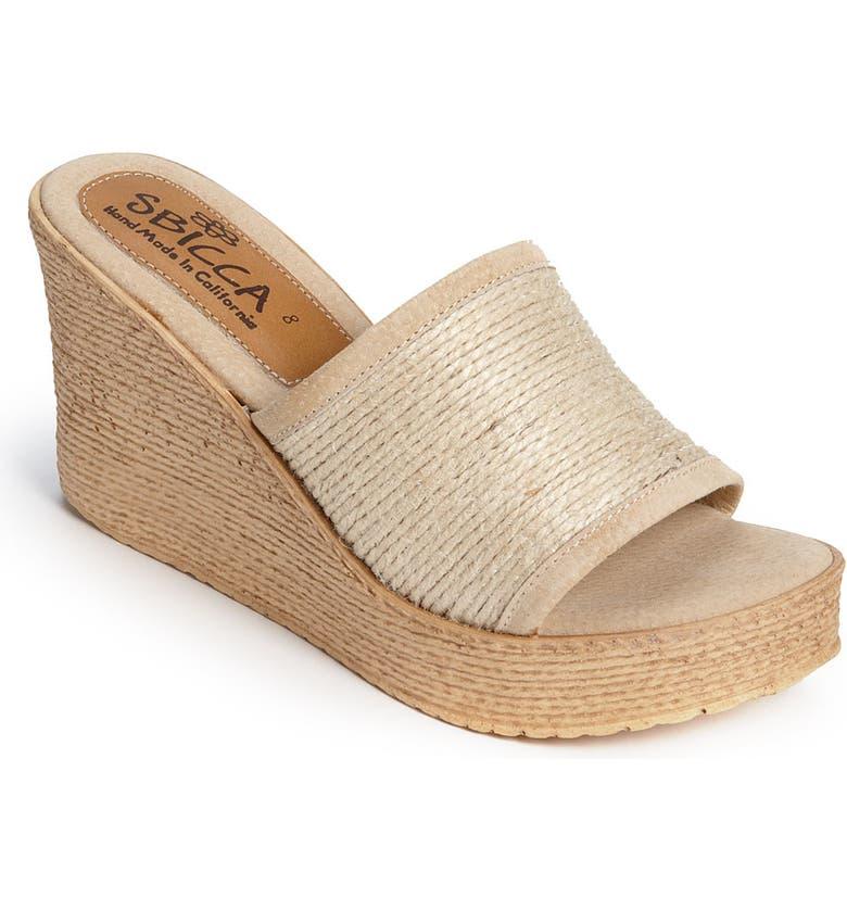 SBICCA 'Blondie' Sandal, Main, color, 250