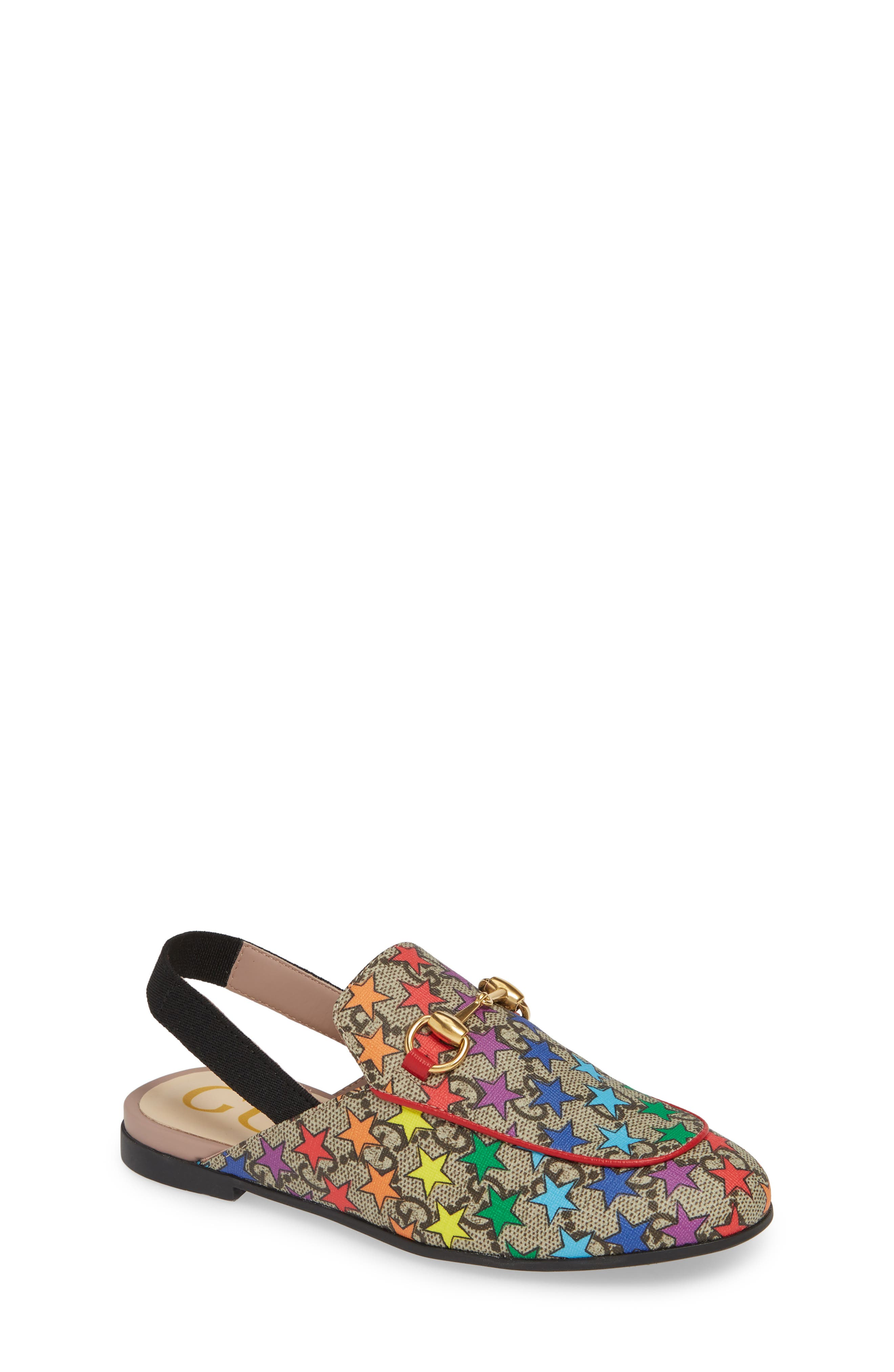 Gucci Princetown Gg Rainbow Star Loafer Mule