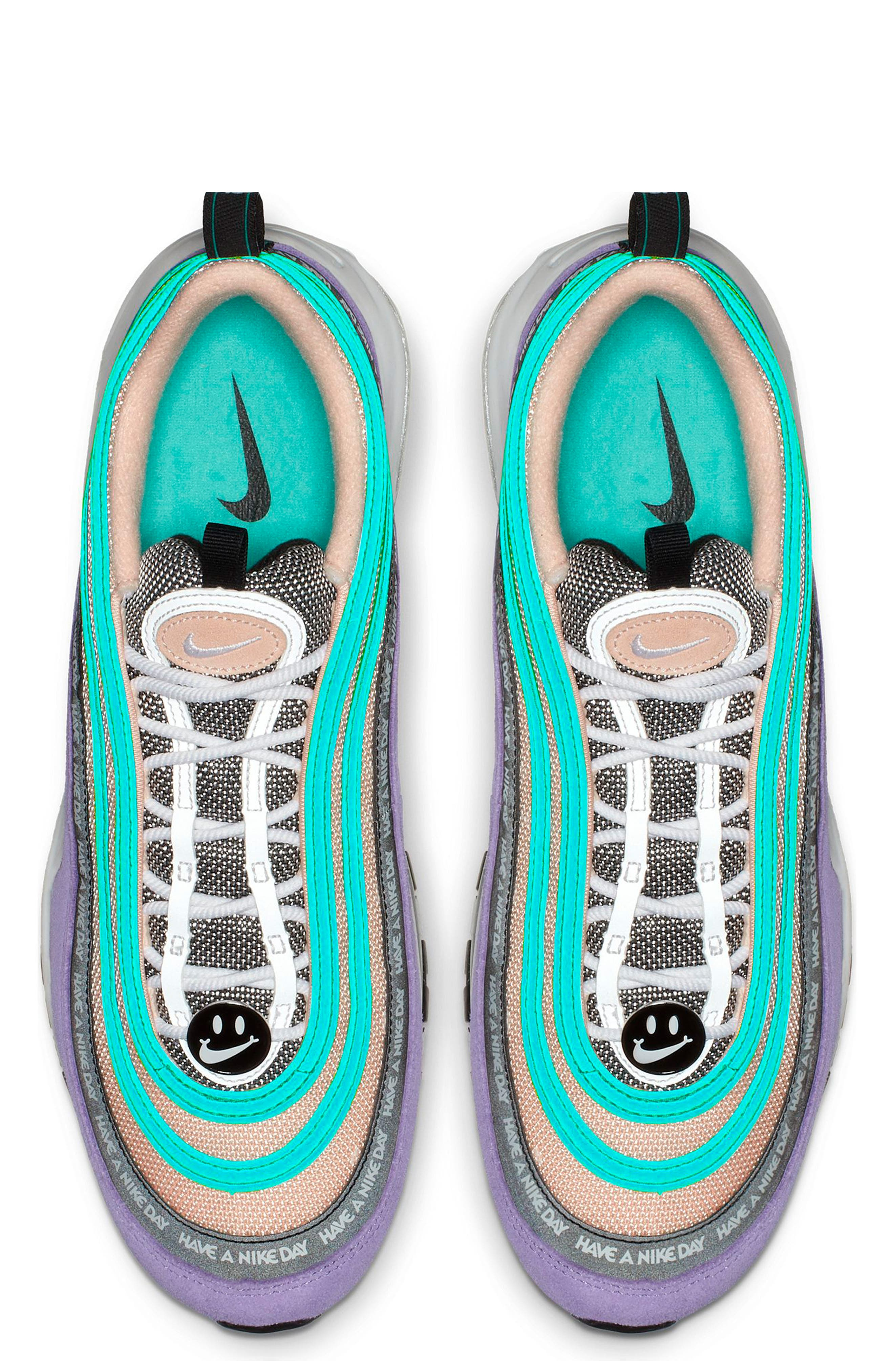 ,                             Air Max 97 Have a Nike Day Sneaker,                             Alternate thumbnail 4, color,                             SPACE PURPLE/ WHITE