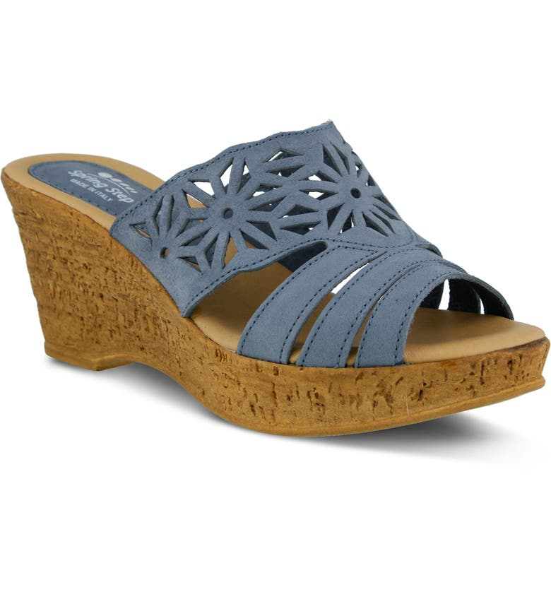 SPRING STEP Dora Wedge Sandal, Main, color, 400