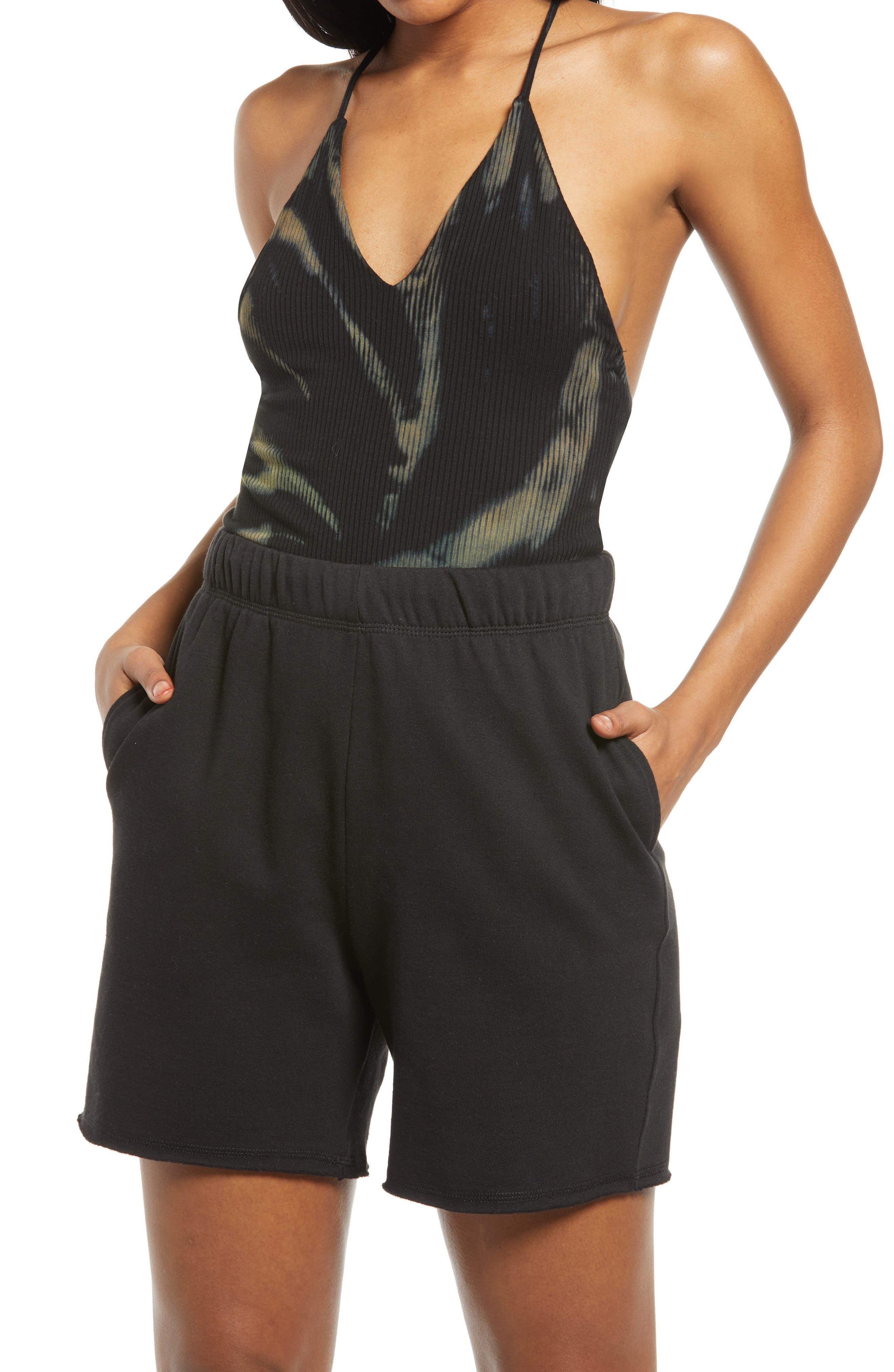 Hara T-Back Rib Bodysuit