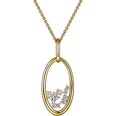 Lafonn Open Oval Pendant Necklace