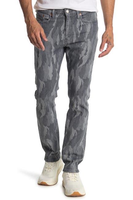 "Image of Levi's 511 Camo Print Slim Jeans - 30-32"" Inseam"
