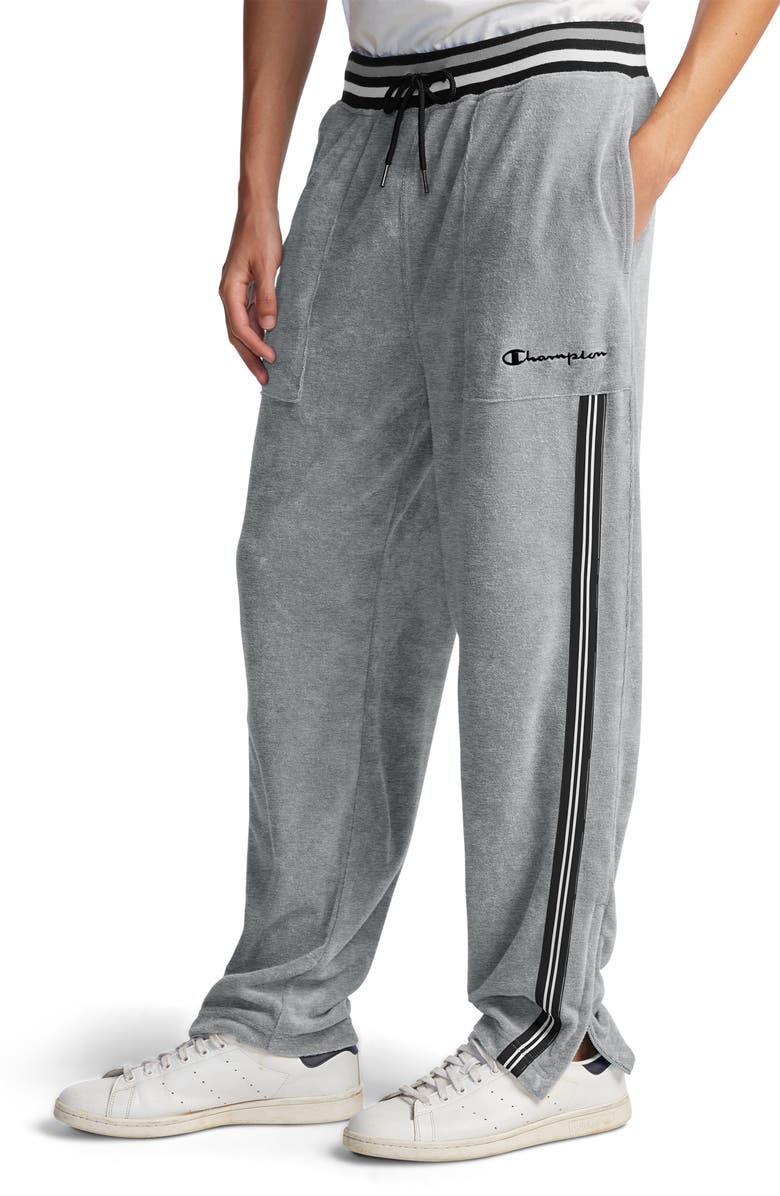 CHAMPION Terry Warm-Up Pants, Main, color, OXFORD GREY