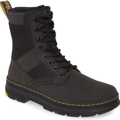 Dr. Marten Iowa Turby Plain Toe Boot, Black