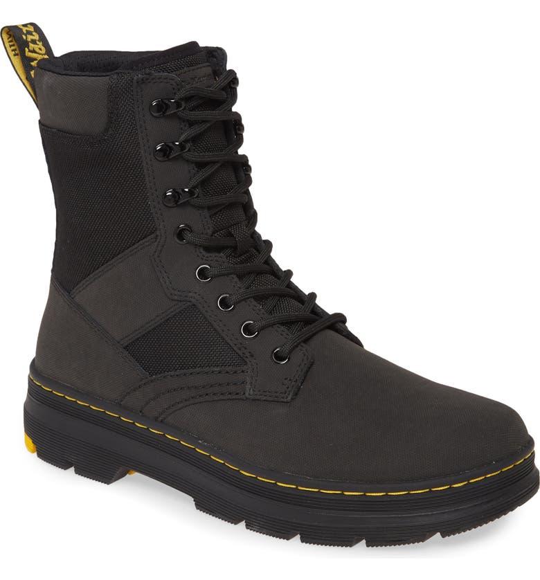 DR. MARTENS Dr. Marten Iowa Turby Plain Toe Boot, Main, color, BLACK