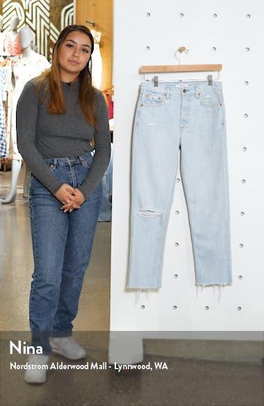 Helena Ripped Straight Leg Jeans, sales video thumbnail