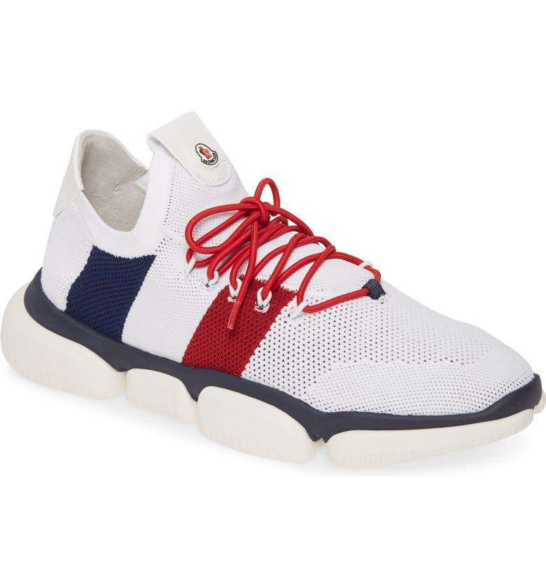 MONCLER Bubble Sneaker, Main, color, WHITE MULTI