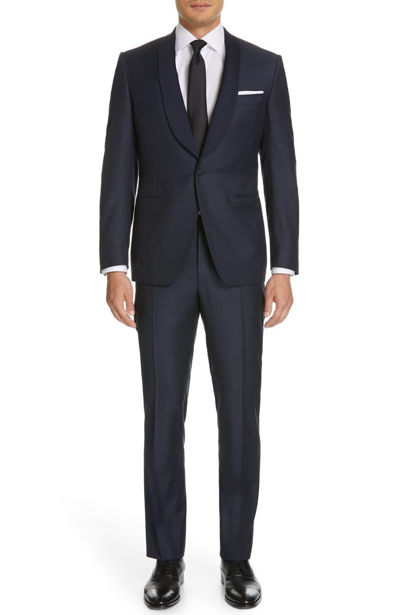 CANALI Venieza Classic Fit Wool Tuxedo, Main, color, 410