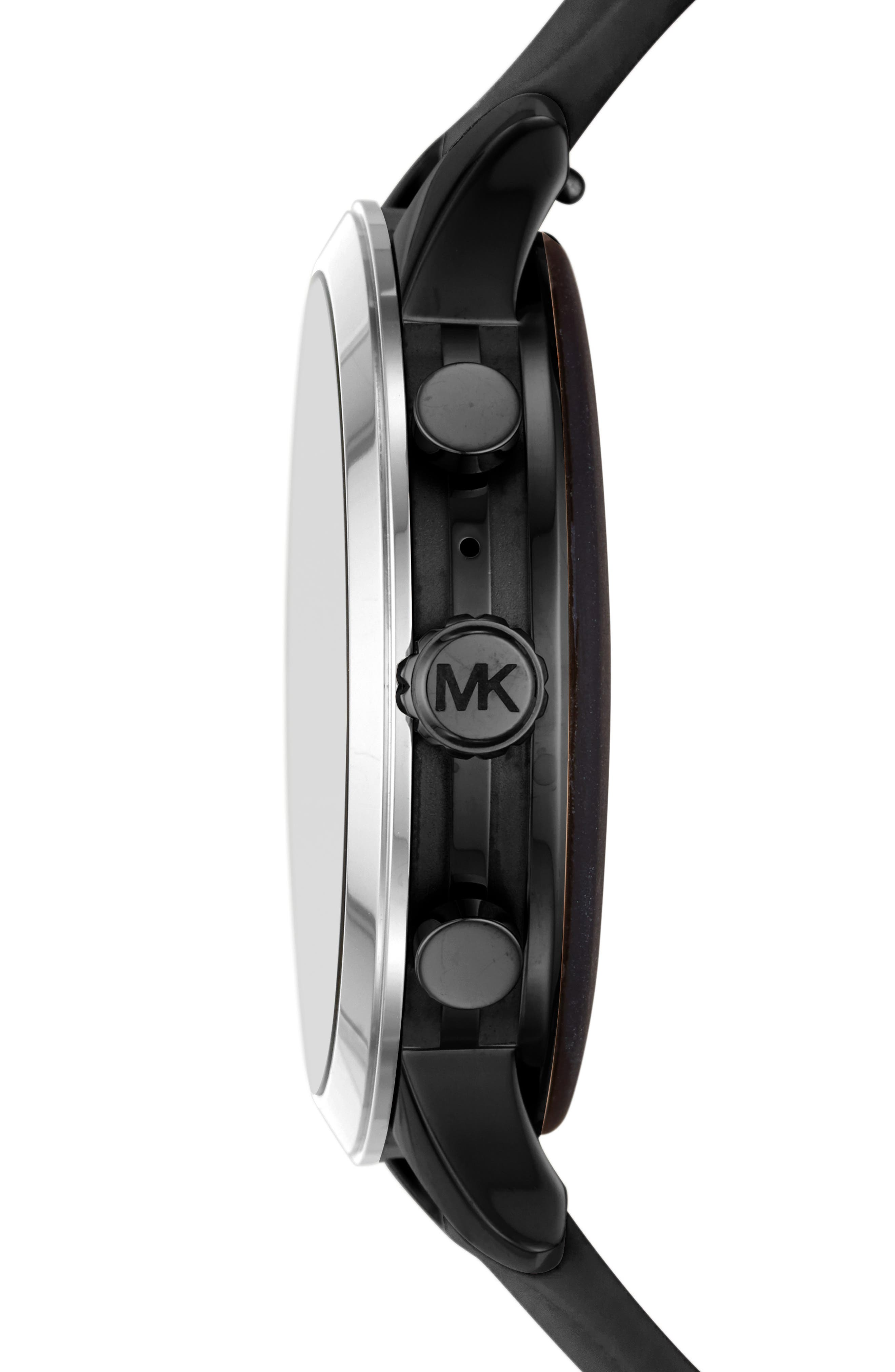 ,                             MICHAEL Michael Kors Access Runway Smart Watch, 41mm,                             Alternate thumbnail 3, color,                             001