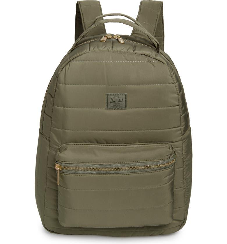 HERSCHEL SUPPLY CO. Nova Mid Volume Backpack, Main, color, DUSTY OLIVE