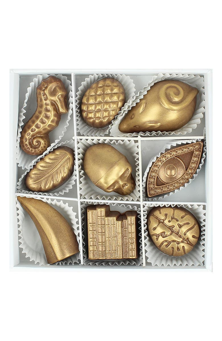 MAGGIE LOUISE CONFECTIONS Wonders 9-Piece Chocolates, Main, color, WHITE