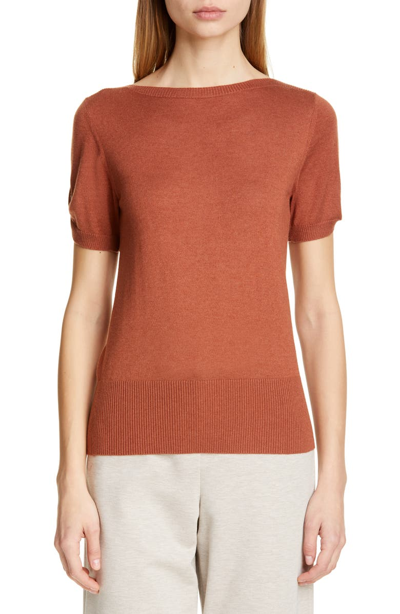 MAX MARA Osteo Silk & Cashmere Sweater, Main, color, 200