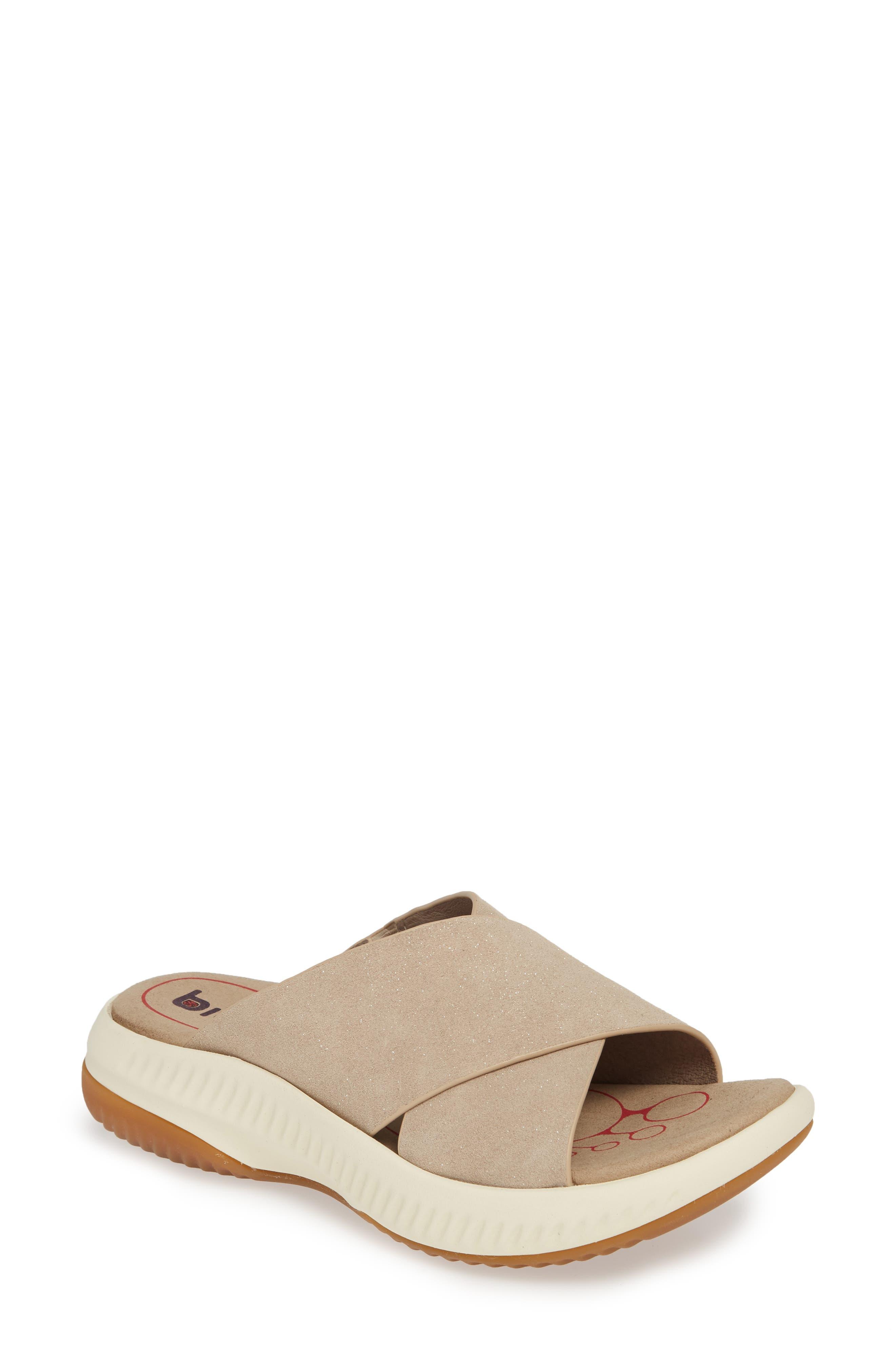 Bionica Ambridge Slide Sandal, Grey
