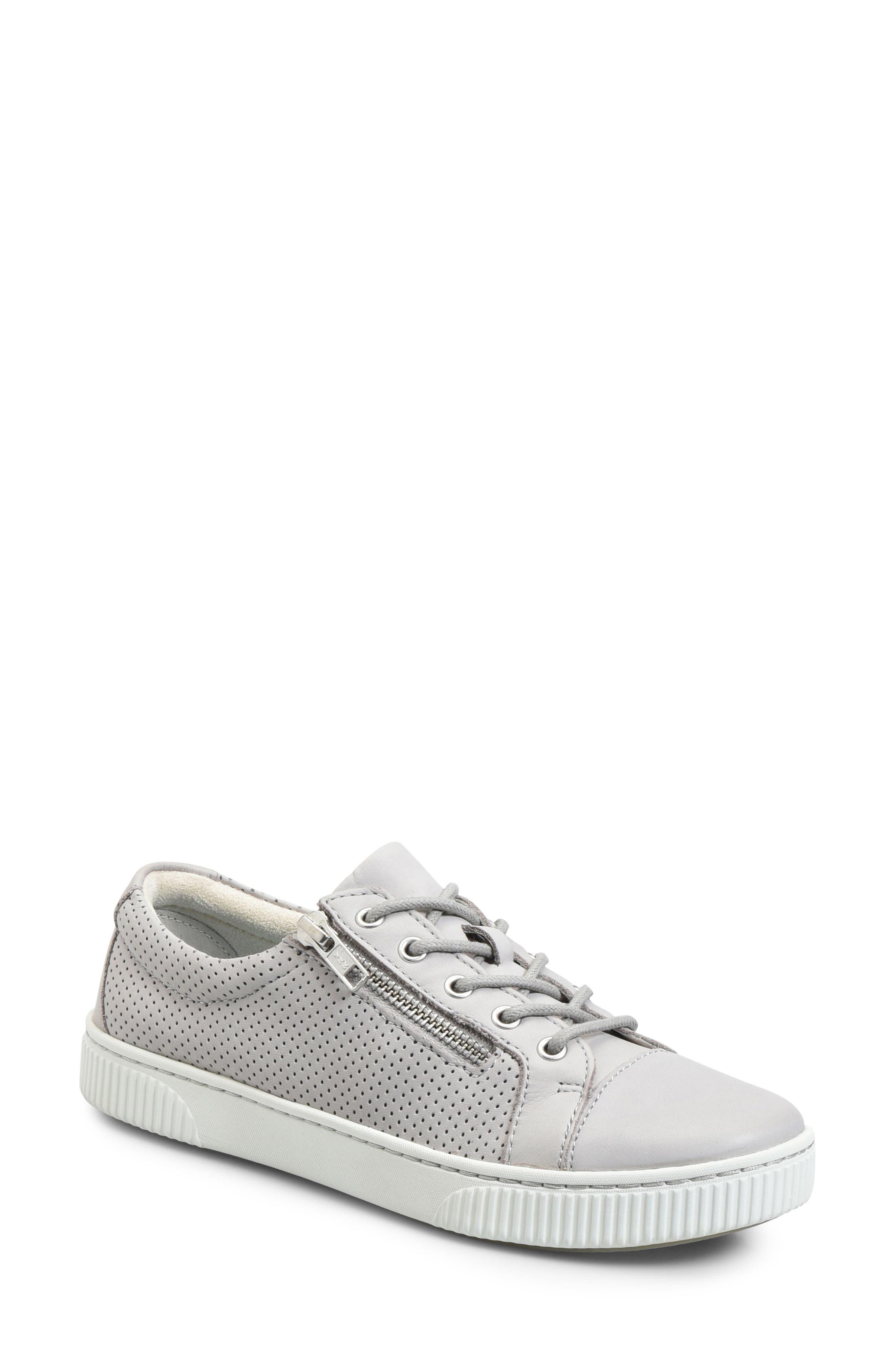 B?rn Tamara Perforated Sneaker, Grey