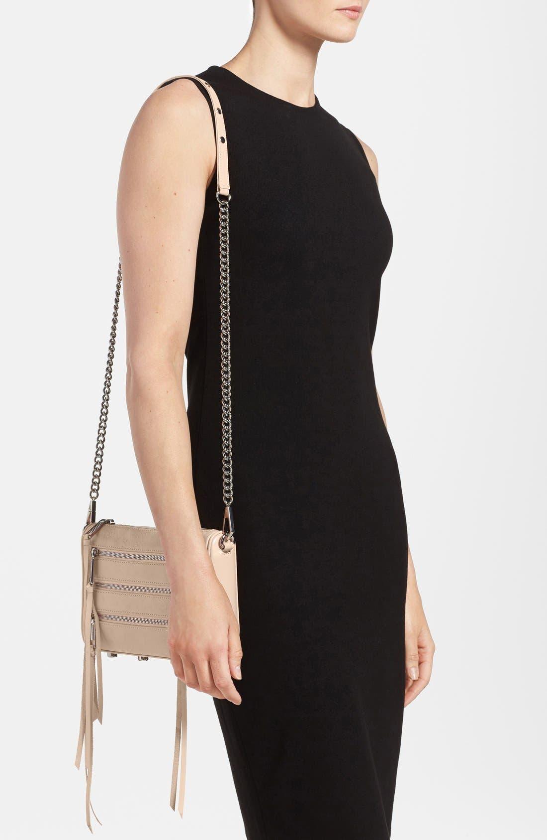 ,                             'Mini 5 Zip' Convertible Crossbody Bag,                             Alternate thumbnail 11, color,                             250