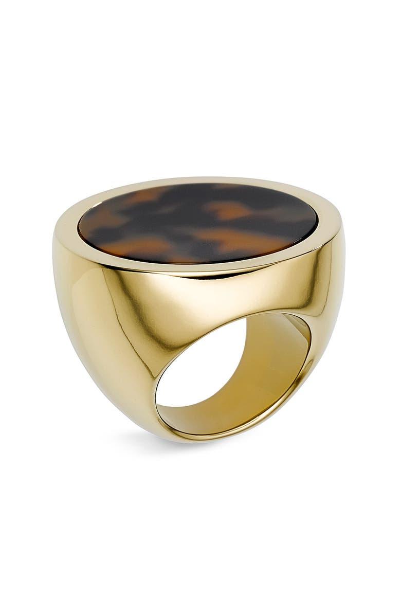 MICHAEL MICHAEL KORS Michael Kors Large Slice Ring, Main, color, 200