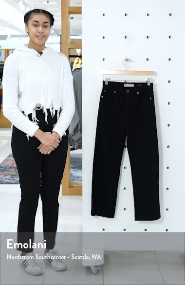 Alexa Crop Wide Leg High Waist Jeans, sales video thumbnail