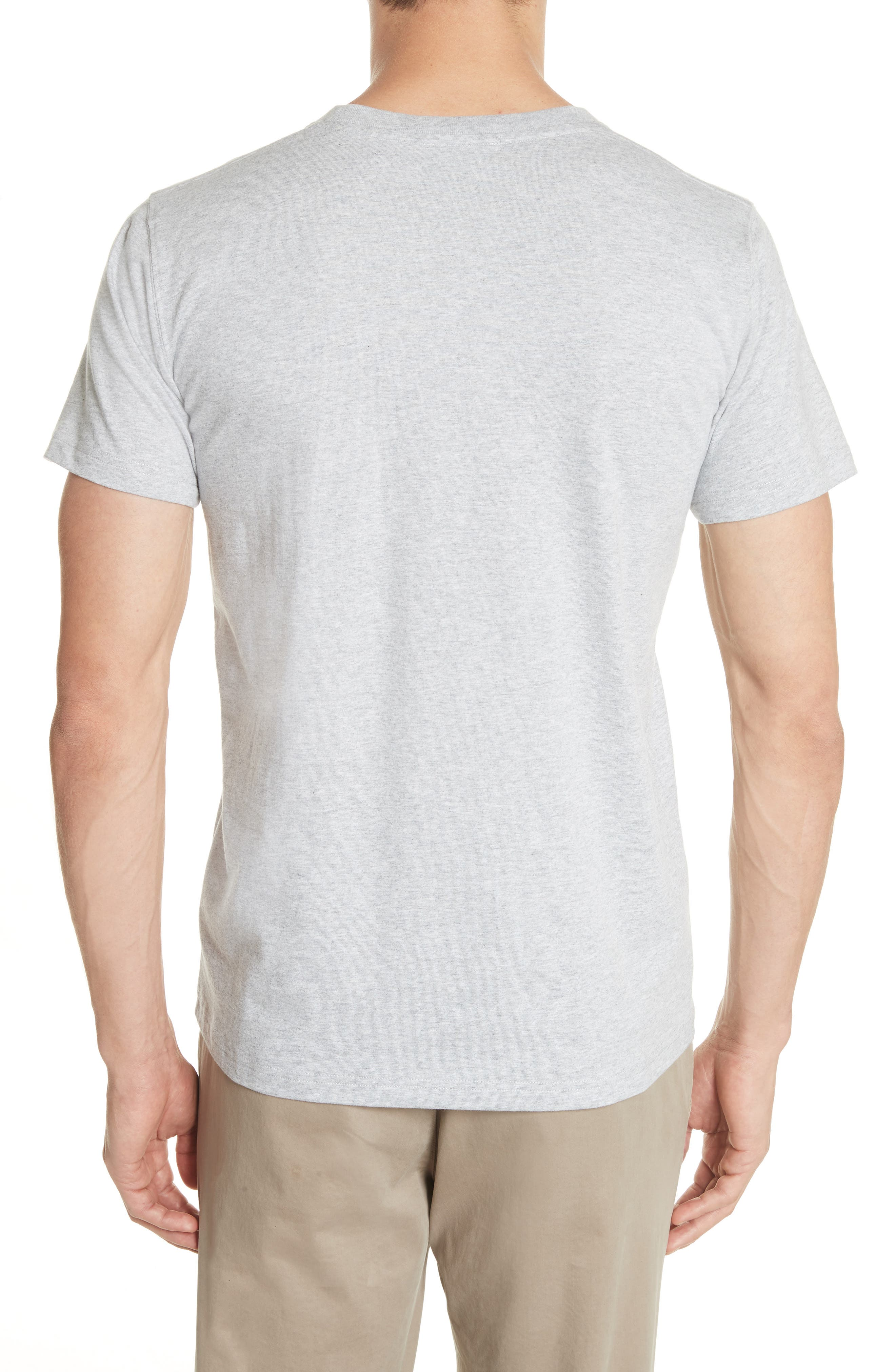 ,                             Niels Crewneck T-Shirt,                             Alternate thumbnail 2, color,                             LIGHT GREY MELANGE