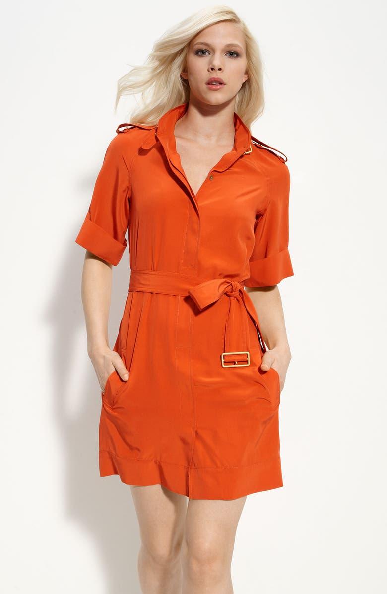 DIANE VON FURSTENBERG 'Jafartha' Silk Minidress, Main, color, 800