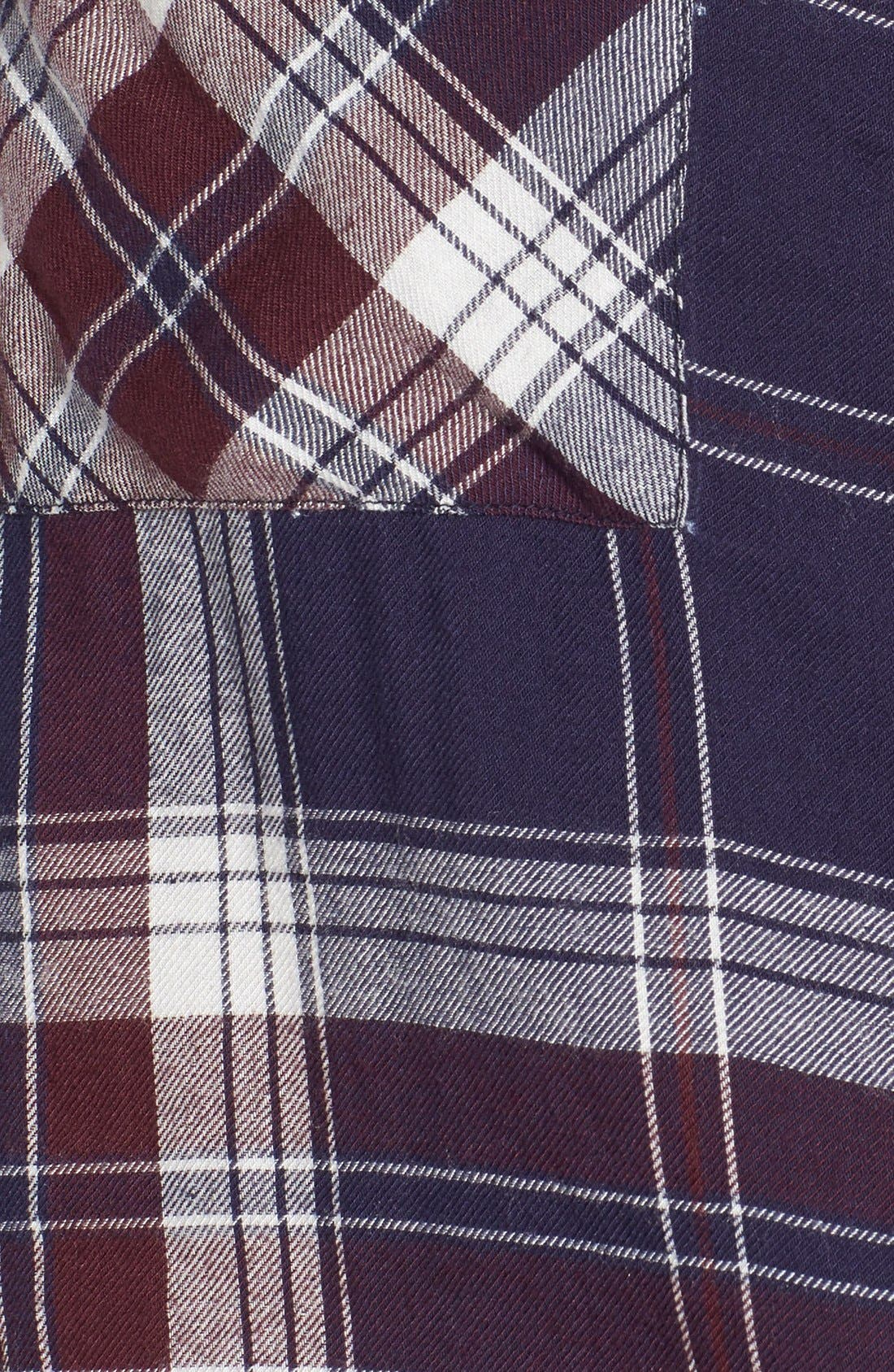 ,                             Plaid Tunic Shirt,                             Alternate thumbnail 27, color,                             421
