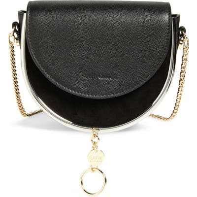See By Chloe Mara Leather Saddle Bag -