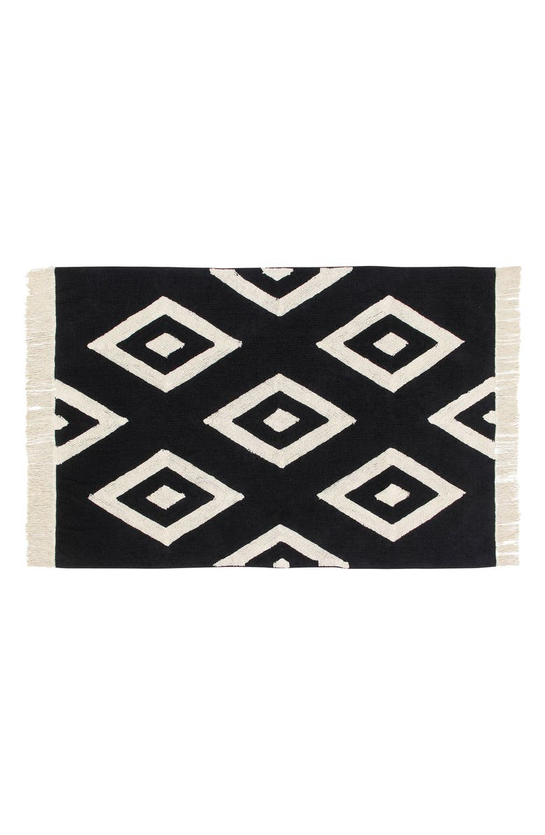 LORENA CANALS Diamonds Rug, Main, color, 001