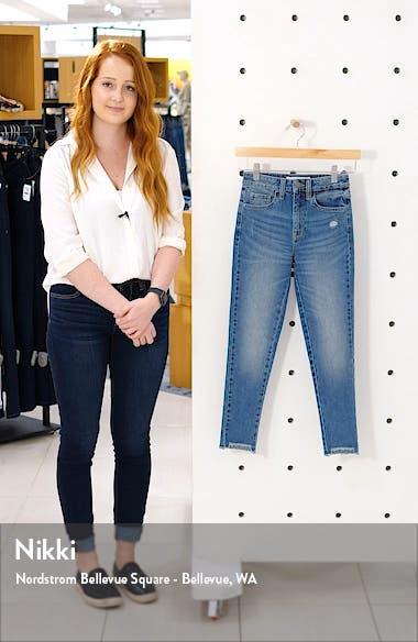 Step Hem Skinny Jeans, sales video thumbnail