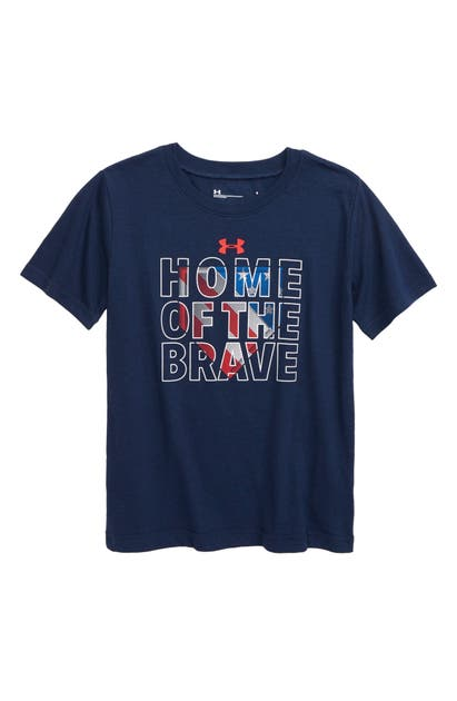 Under Armour HOME OF THE BRAVE PERFORMANCE GRAPHIC TEE (LITTLE BOY)