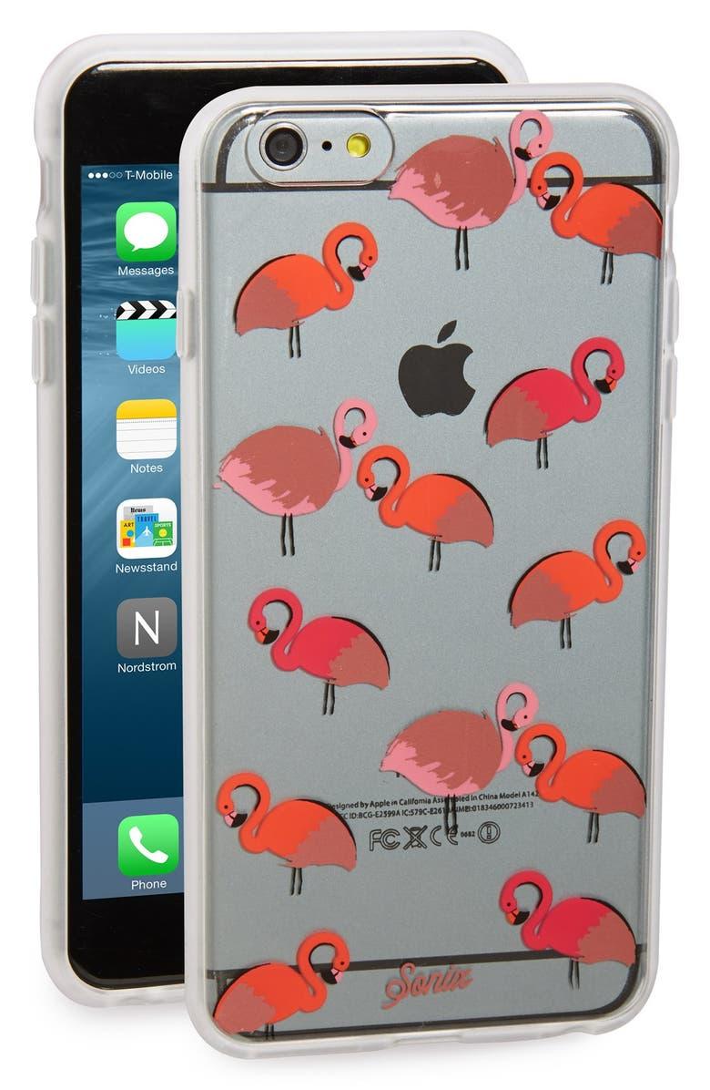 SONIX 'Flamingo' iPhone 6 Plus & 6s PlusCase, Main, color, CLEAR