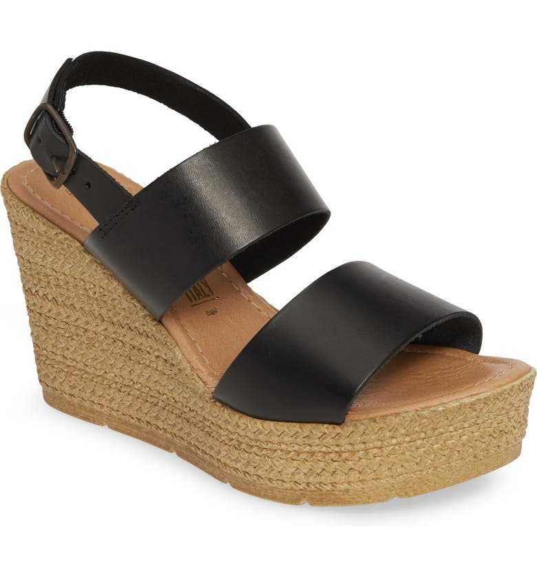 SEYCHELLES Downtime Wedge Sandal, Main, color, 001