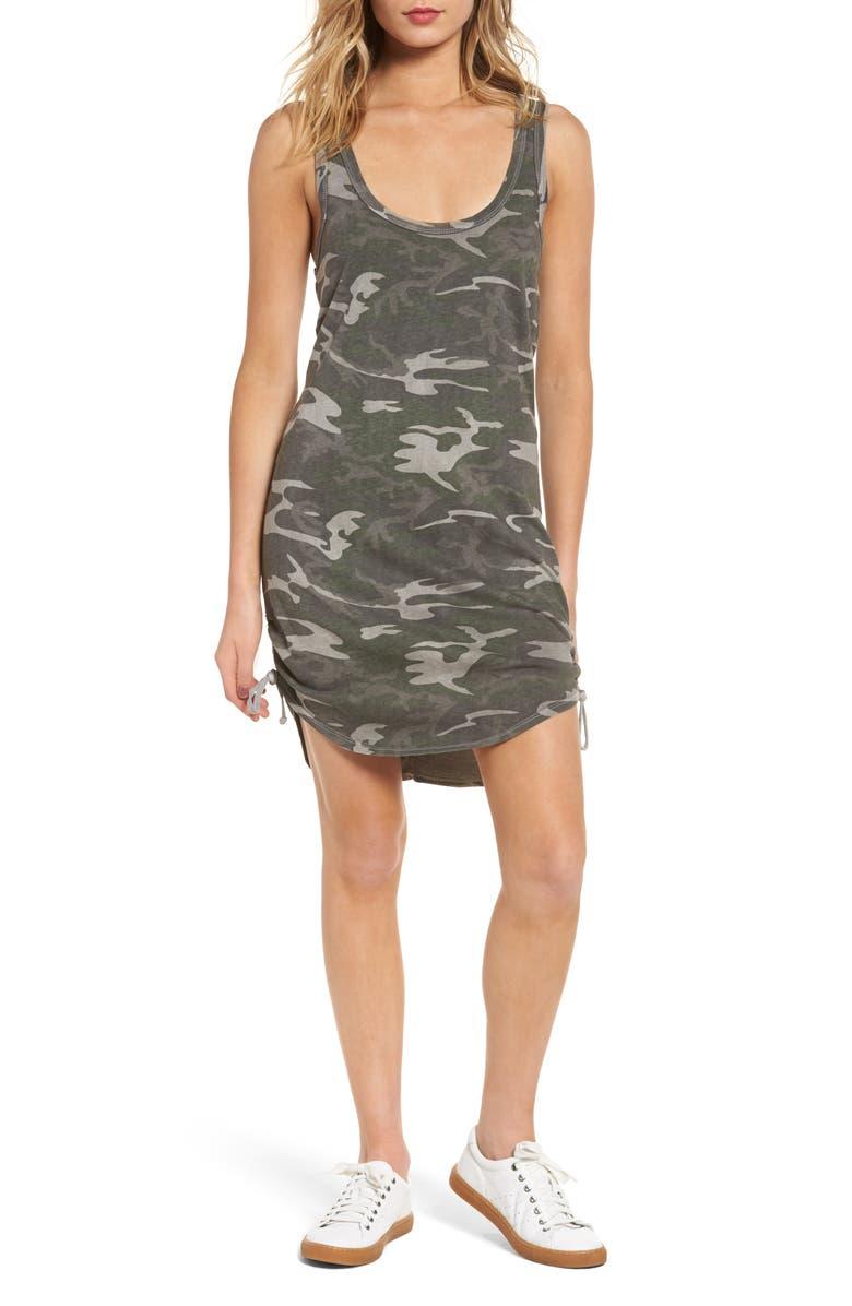 e3e13ad1cd2a8 Pam & Gela Camo Tank Dress | Nordstrom
