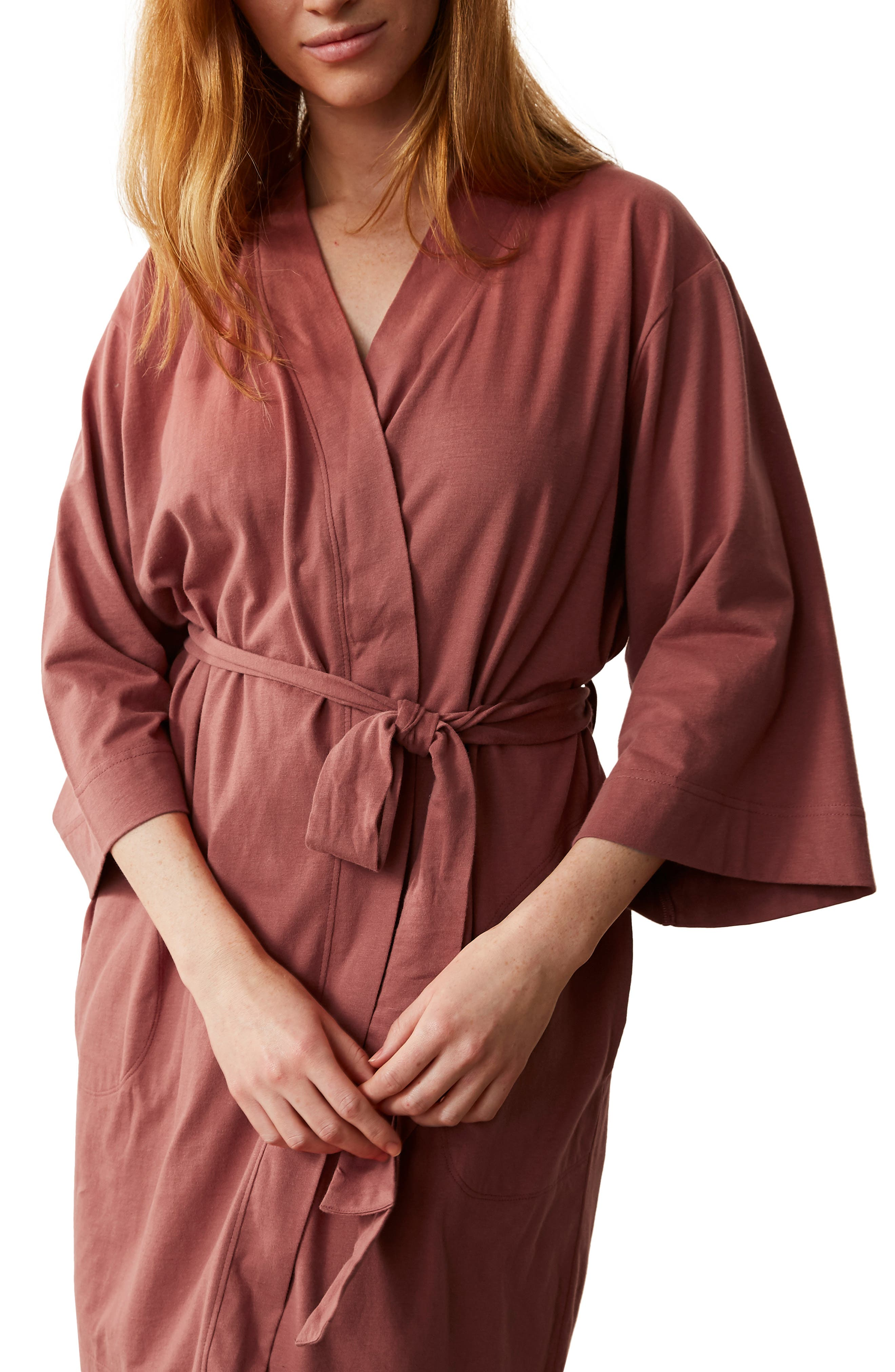 Solstice Organic Cotton Jersey Robe