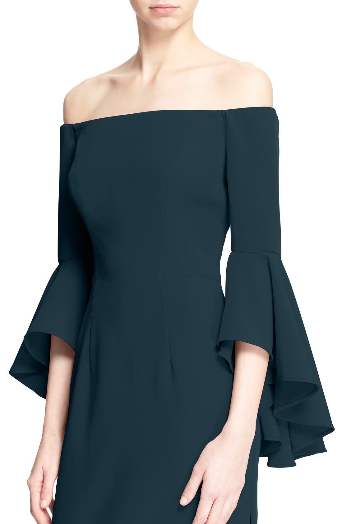 ,                             Selena Off the Shoulder Midi Dress,                             Alternate thumbnail 47, color,                             422