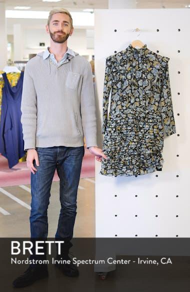Nikita Floral Print Cotton & Silk Dress, sales video thumbnail