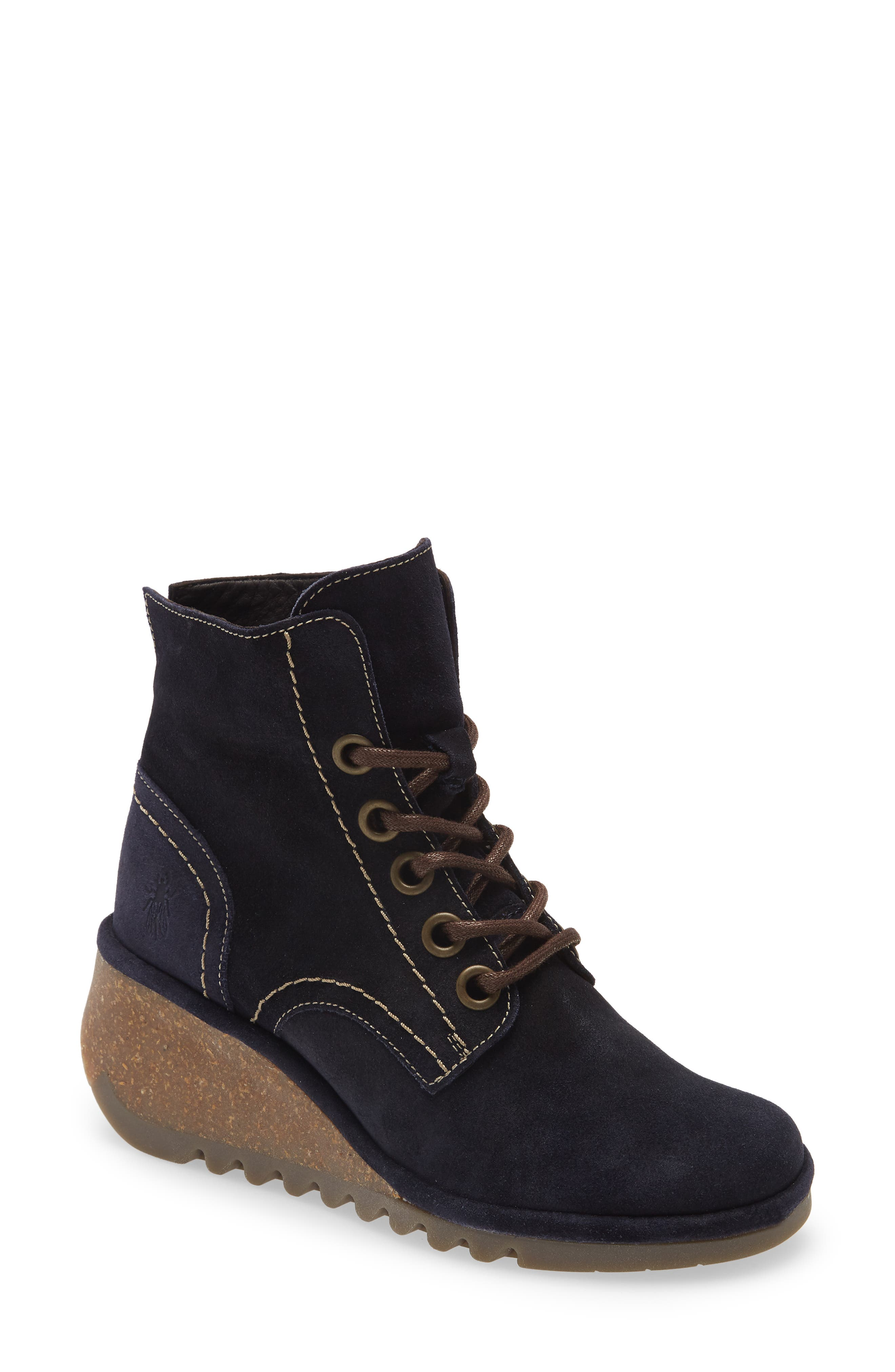 Nero Lace-Up Bootie