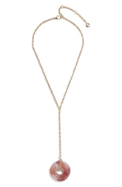 Image of BAUBLEBAR Resin Pendant Y-Necklace