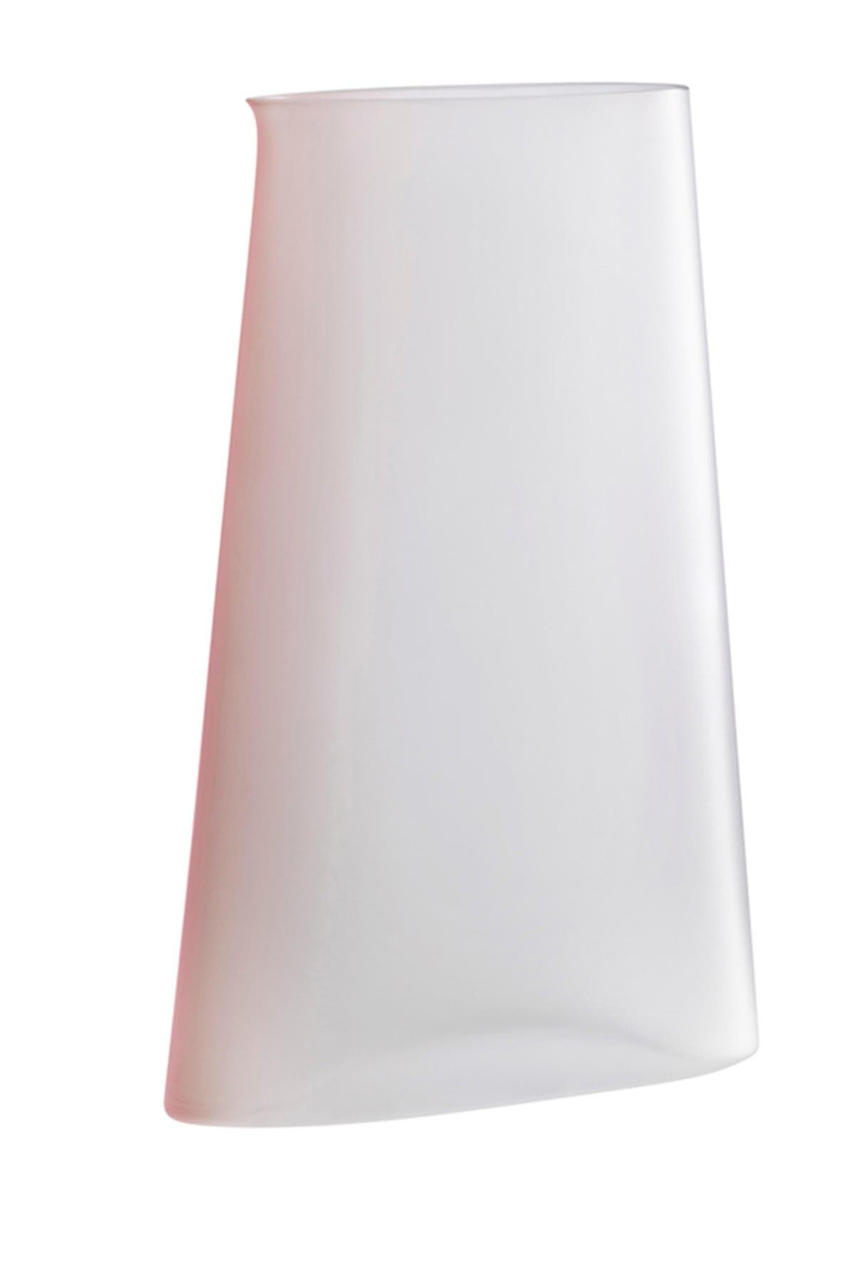 Image of Nude Glass Pigmento Pitcher - Pink Sprayed