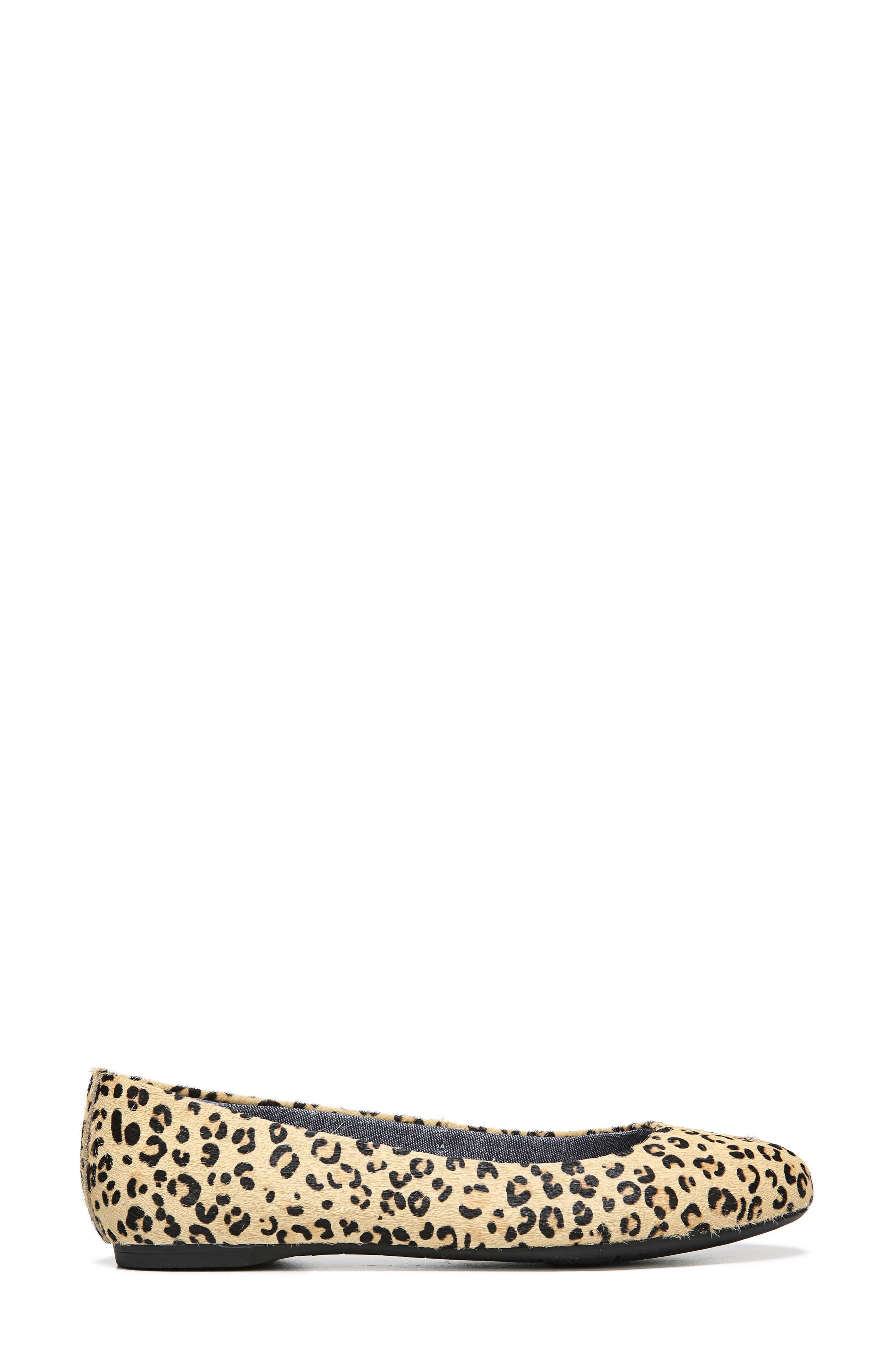 ,                             Giorgie Flat,                             Alternate thumbnail 2, color,                             BLACK LEOPARD CALF HAIR