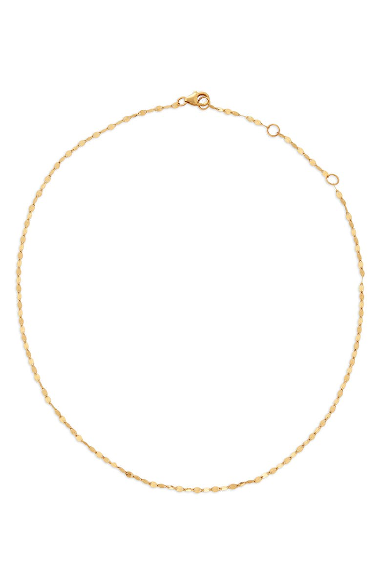 LANA JEWELRY Blake Chain Choker Necklace, Main, color, YELLOW GOLD